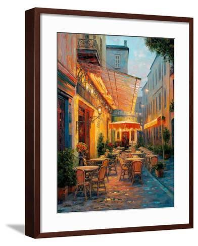 Caf? Van Gogh 2008, Arles France-Haixia Liu-Framed Art Print