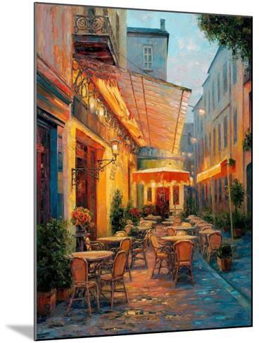 Caf? Van Gogh 2008, Arles France-Haixia Liu-Mounted Art Print