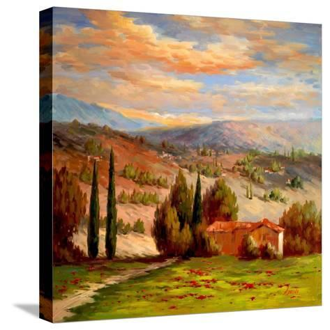 Rural Bliss-Marino-Stretched Canvas Print