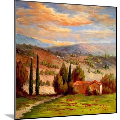 Rural Bliss-Marino-Mounted Art Print