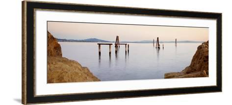 Bay Pano #121-Alan Blaustein-Framed Art Print