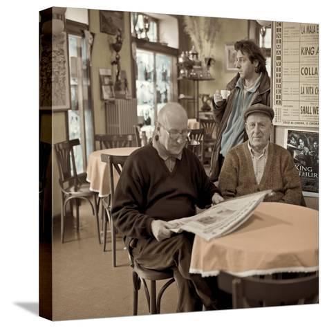 Bellagio Caffe #1-Alan Blaustein-Stretched Canvas Print