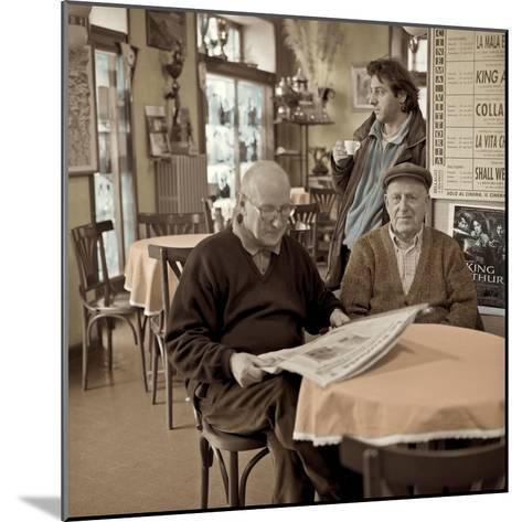 Bellagio Caffe #1-Alan Blaustein-Mounted Photographic Print