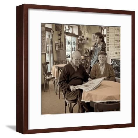 Bellagio Caffe #1-Alan Blaustein-Framed Art Print