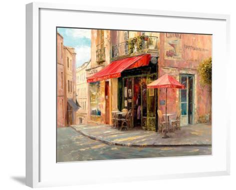 Hillside Café-Haixia Liu-Framed Art Print