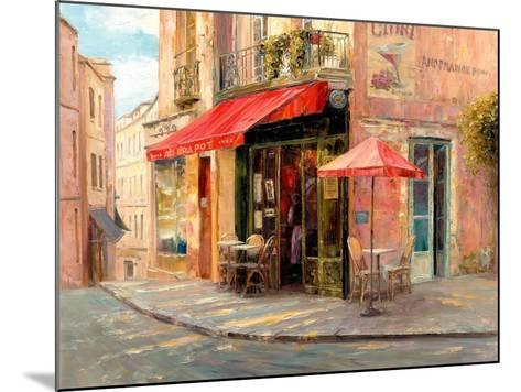 Hillside Café-Haixia Liu-Mounted Art Print