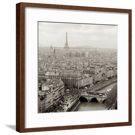 Above Paris #25-Alan Blaustein-Framed Art Print