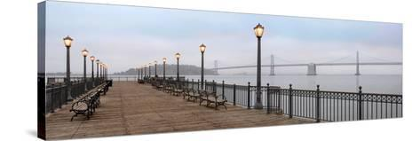 Broadway Pier Pano #112-Alan Blaustein-Stretched Canvas Print
