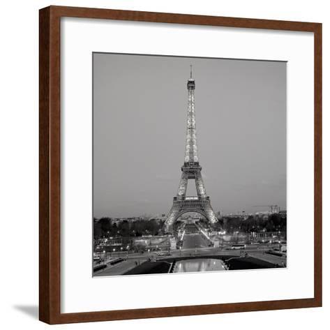 Tour Eiffel #7-Alan Blaustein-Framed Art Print