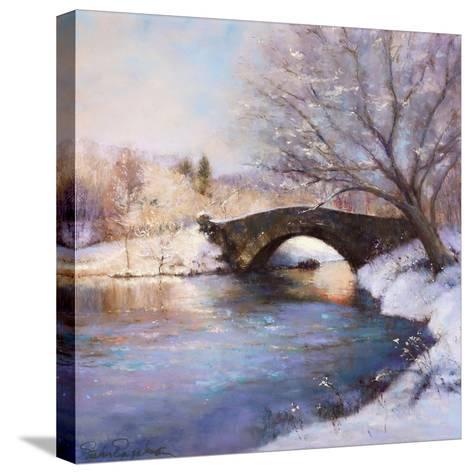Central Park Bridge-Esther Engelman-Stretched Canvas Print