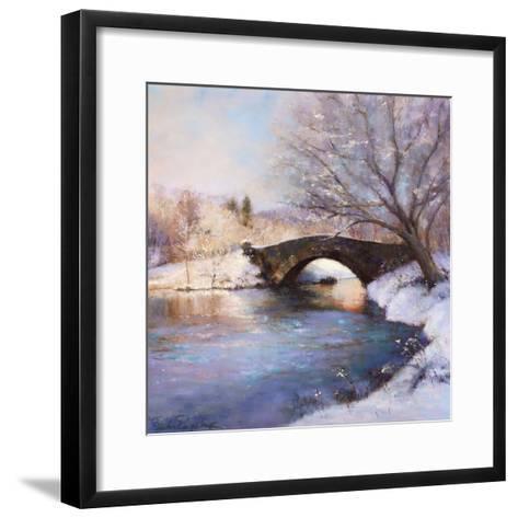 Central Park Bridge-Esther Engelman-Framed Art Print