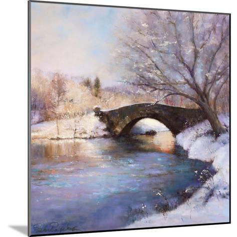 Central Park Bridge-Esther Engelman-Mounted Art Print
