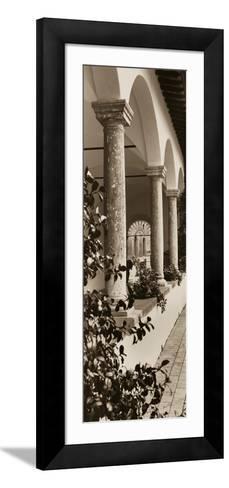 Portico, Toscana-Alan Blaustein-Framed Art Print