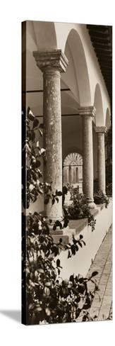 Portico, Toscana-Alan Blaustein-Stretched Canvas Print