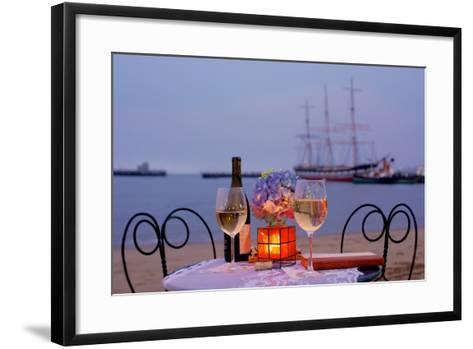Dream Cafe Hyde St Pier #34-Alan Blaustein-Framed Art Print
