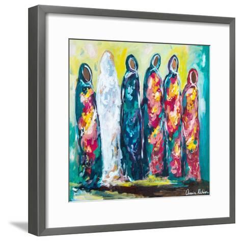 The Wedding-Amira Rahim-Framed Art Print