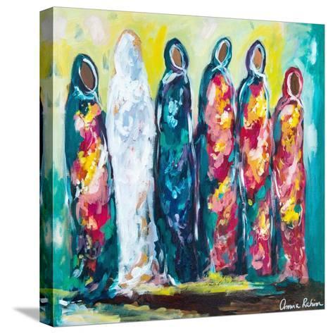 The Wedding-Amira Rahim-Stretched Canvas Print