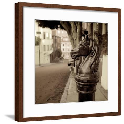 Hitching Post #7-Alan Blaustein-Framed Art Print