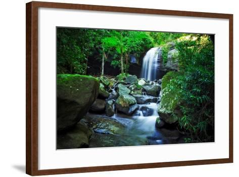 How?s the Serenity-Tracie Louise-Framed Art Print