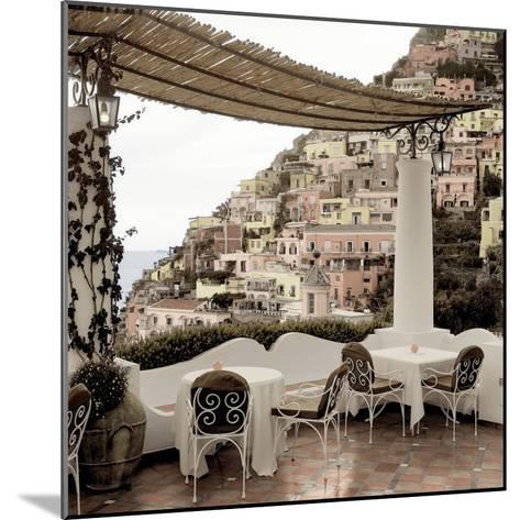Positano Caffe #1-Alan Blaustein-Mounted Photographic Print