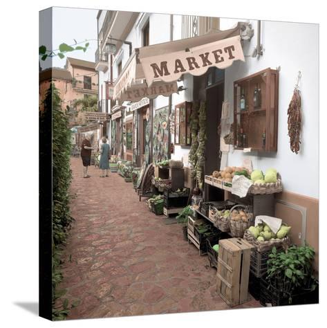Ravello Market #1-Alan Blaustein-Stretched Canvas Print