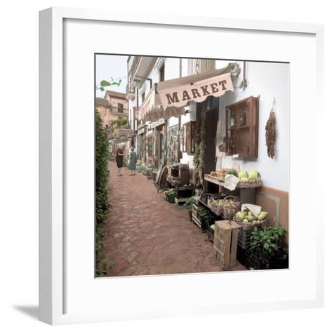 Ravello Market #1-Alan Blaustein-Framed Art Print