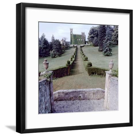 Giardini Italiano #20-Alan Blaustein-Framed Art Print