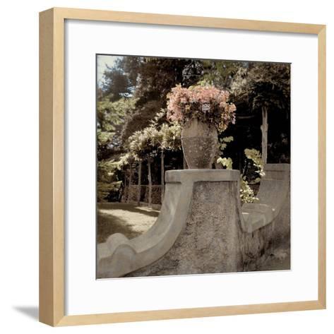 Giardini Italiano #8-Alan Blaustein-Framed Art Print