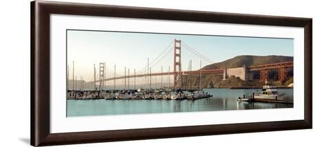 Golden Gate Bridge #33-Alan Blaustein-Framed Art Print