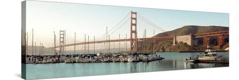 Golden Gate Bridge #33-Alan Blaustein-Stretched Canvas Print