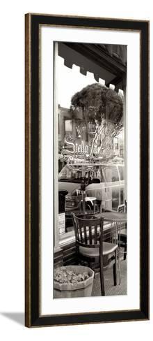 San Francisco Cafe Pano #3-Alan Blaustein-Framed Art Print
