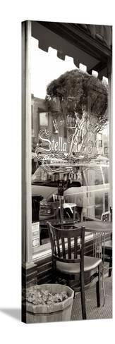 San Francisco Cafe Pano #3-Alan Blaustein-Stretched Canvas Print