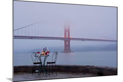 Dream Cafe Golden Gate Bridge #56-Alan Blaustein-Mounted Photographic Print