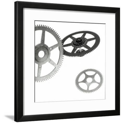 Retro- Gears #3-Alan Blaustein-Framed Art Print