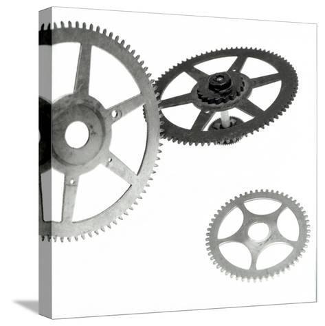 Retro- Gears #3-Alan Blaustein-Stretched Canvas Print