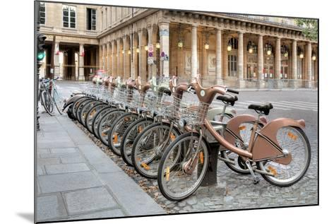 Paris Cycles 1-Alan Blaustein-Mounted Photographic Print