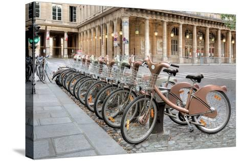 Paris Cycles 1-Alan Blaustein-Stretched Canvas Print