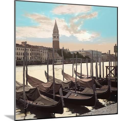 Campanile Vista with Gondolas #1-Alan Blaustein-Mounted Photographic Print