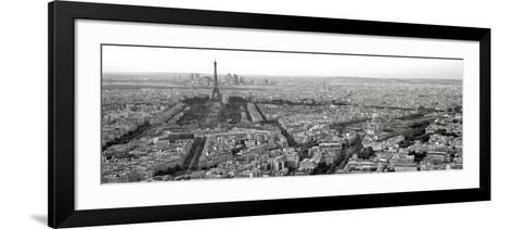Paris By Day-Alan Blaustein-Framed Art Print