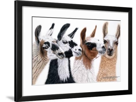 Peruvian Visitors-Jan Henderson-Framed Art Print