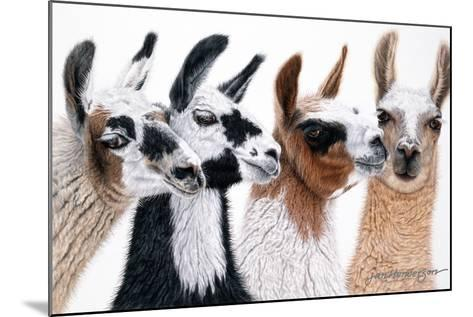 Peruvian Visitors-Jan Henderson-Mounted Photographic Print