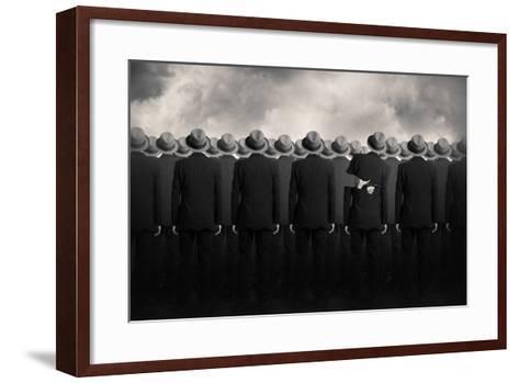 Shell-Tommy Ingberg-Framed Art Print