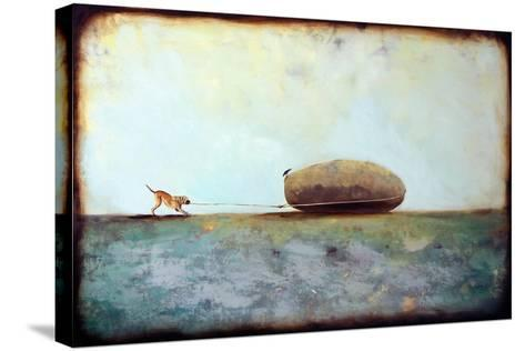 Fair Game-Alicia Armstrong-Stretched Canvas Print