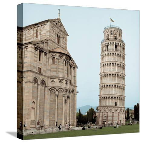 Pisa Tower #1-Alan Blaustein-Stretched Canvas Print
