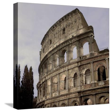 Coliseum Rome #2-Alan Blaustein-Stretched Canvas Print