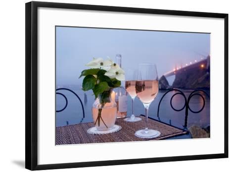 Dream Cafe Golden Gate Bridge #9-Alan Blaustein-Framed Art Print
