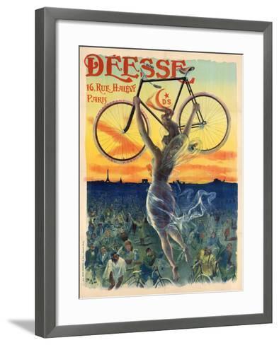 Déesse Cycles-Jean de Paleologu (PAL)-Framed Art Print