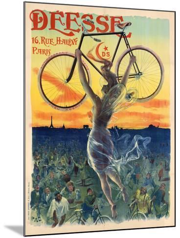 Déesse Cycles-Jean de Paleologu (PAL)-Mounted Art Print