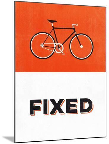 Fixed-Hannes Beer-Mounted Art Print