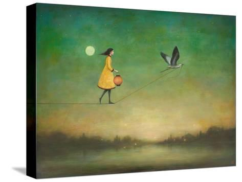 Blue Moon Expedition-Duy Huynh-Stretched Canvas Print